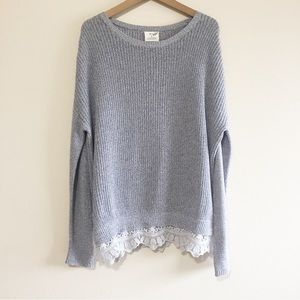 Urban Outfitters Lace Sweater
